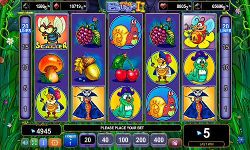 Crazy Bugs 2 free slot