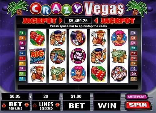 Crazy Vegas free slot