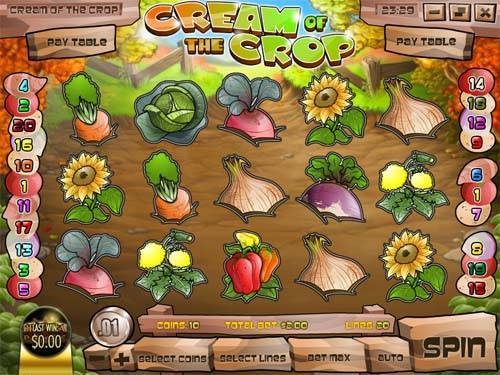 Cream of the Crop free slot