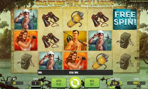 Creature From the Black Lagoon free slot