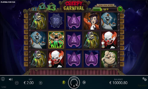 Creepy Carnival free slot