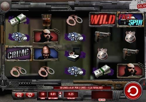 Crime Pays free slot