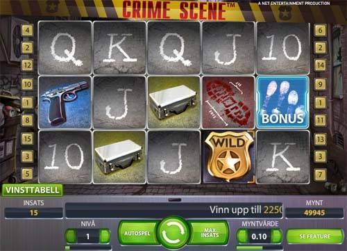 Crime Scene free slot