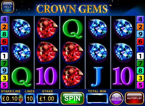 Crown Gems free slot
