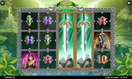 Crown of Avalon free slot
