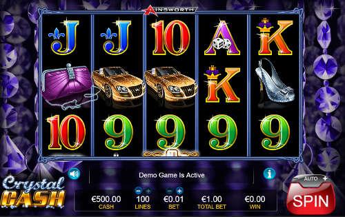 Crystal Cash casino slot