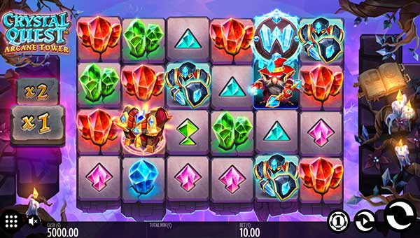 Crystal Quest Arcane Towercascading reels slot