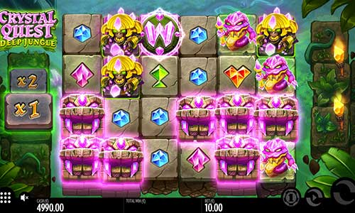 Crystal Quest Deep Jungle free slot
