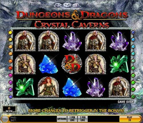 Crystal Caverns free slot