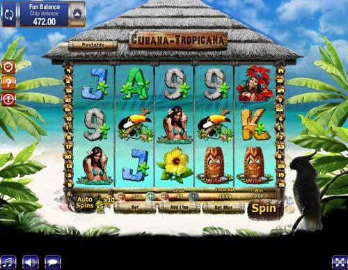 Cubana Tropicana free slot