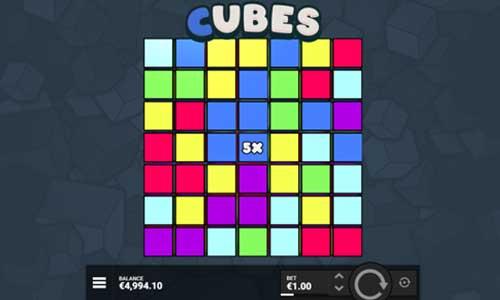 Cubes free slot