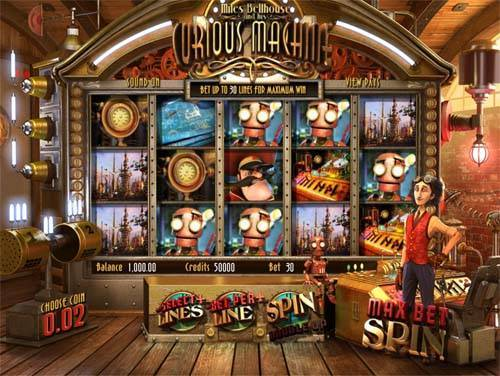 Curious Machine free slot