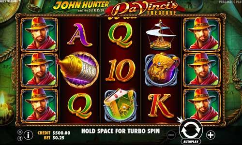 Da Vincis Treasure free slot
