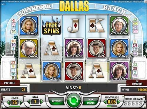 Dallas free slot