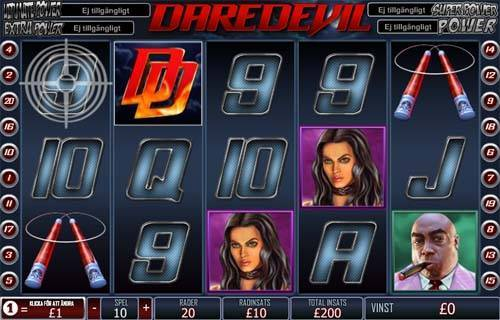 Daredevil free slot