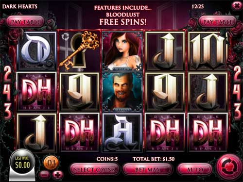 Dark Hearts casino slot