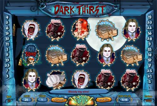 Dark Thirst free slot
