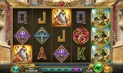 Dawn of Egypt free slot