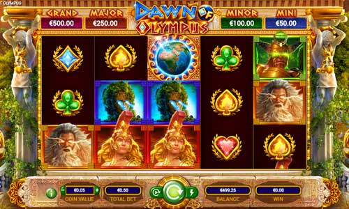 Dawn of Olympusjackpot slot