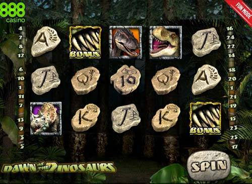 Dawn of the Dinosaurs free slot