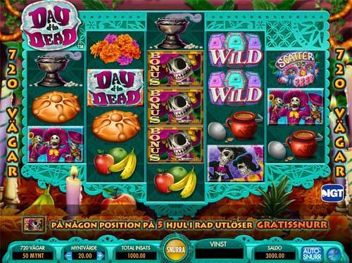 Day of the Deadwin both ways slot