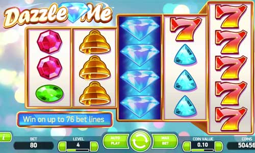 Play Dazzle Me Online Slots at Casino.com South Africa
