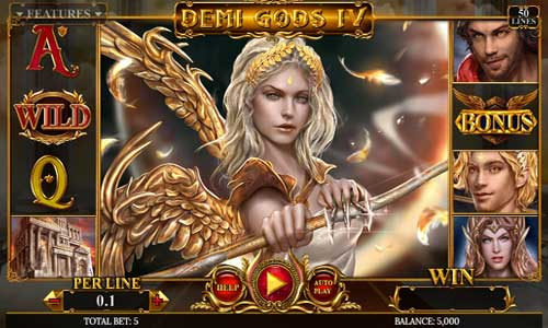 Demi Gods IV new slot