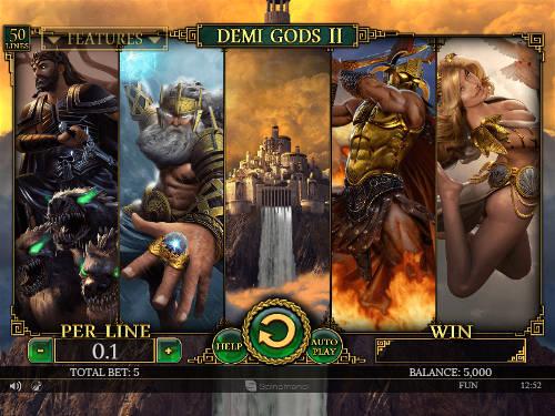 Demi Gods II casino slot