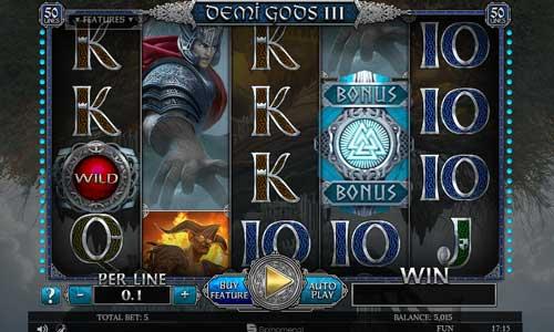 Demi Gods III free slot
