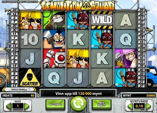 Demolition Squad free slot
