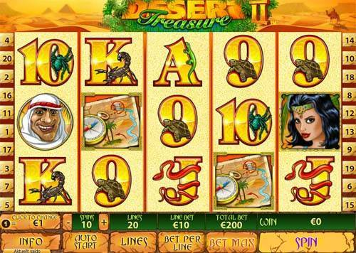 Desert Treasure 2 free slot