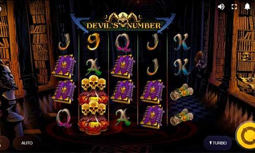 Devils Numbersymbol upgrade slot