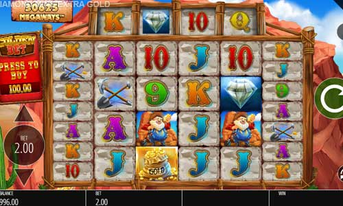 Diamond Mine Extra Gold Megaways free slot