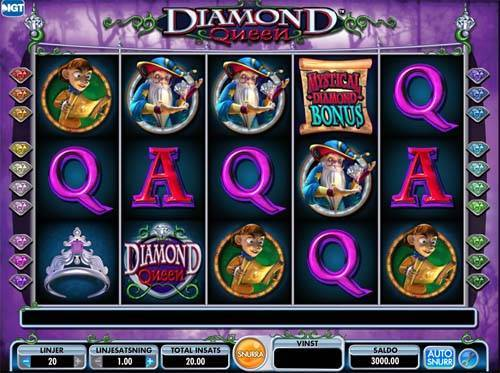 Diamond Queen free slot