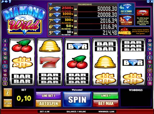 Diamond Wild free slot