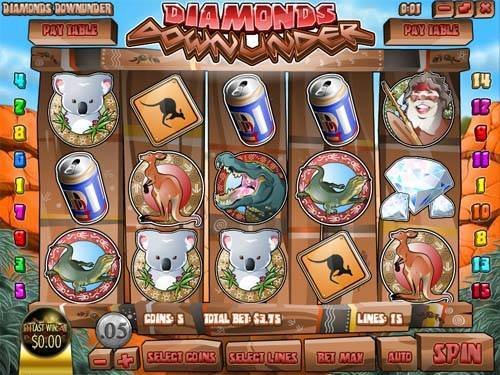 Diamonds Downunder free slot