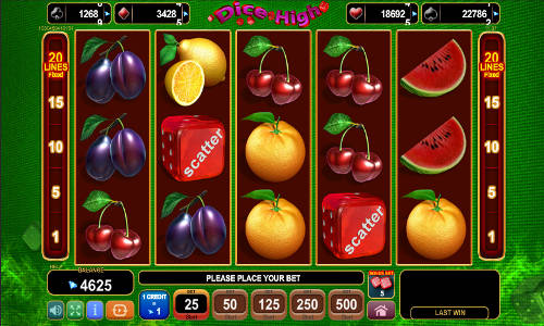 Dice High free slot