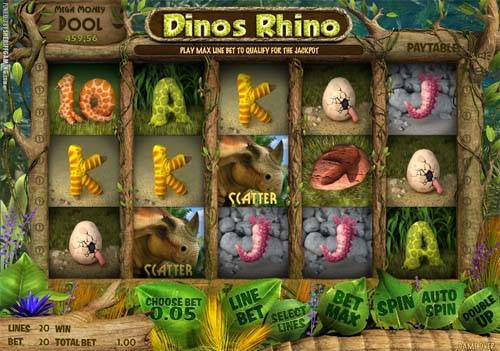 Dinos Rhino free slot