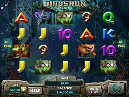 Dinosaur Adventure free slot