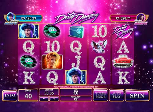 Dirty Dancing free slot