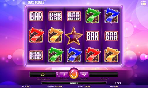 Disco Double free slot