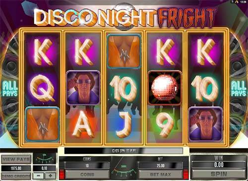 Disco Night Fright free slot
