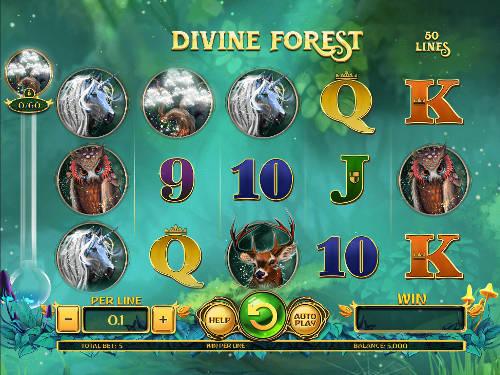 Divine Forest free slot
