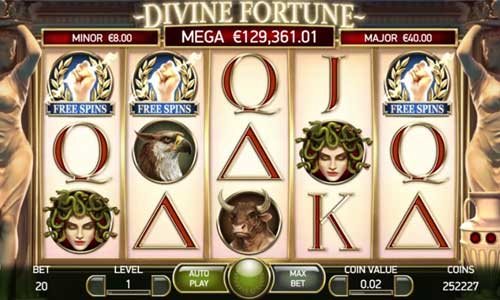 Divine Fortune free slot