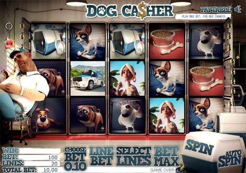 Dog Casher free slot