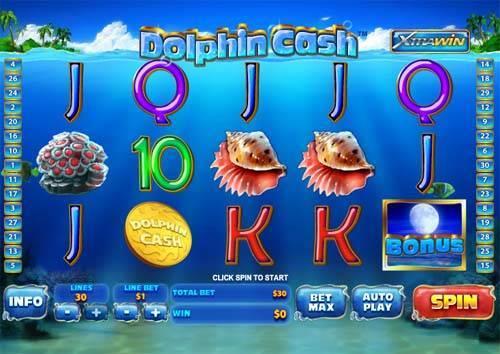 Dolphin Cash free slot