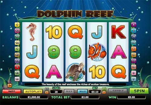 Dolphin Reef free slot