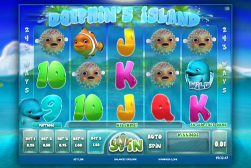 Dolphins Island free slot