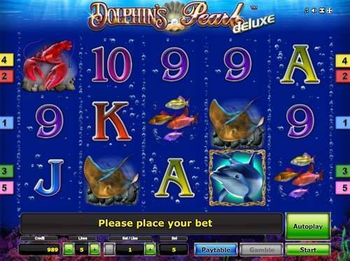 Dolphins Pearl Deluxe free slot