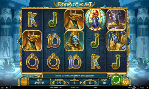 Doom of Egypt free slot